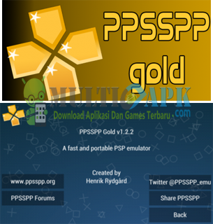 PPSSPP Gold For Emulator Android