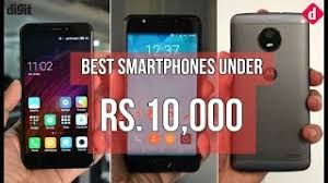 Best Budget Smartphones under 10000 in India