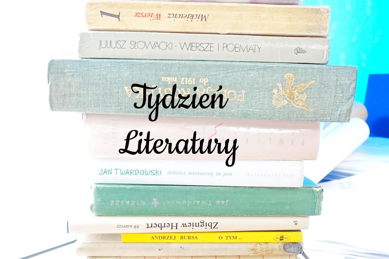 Blue School Tydzień Literatury Cz1