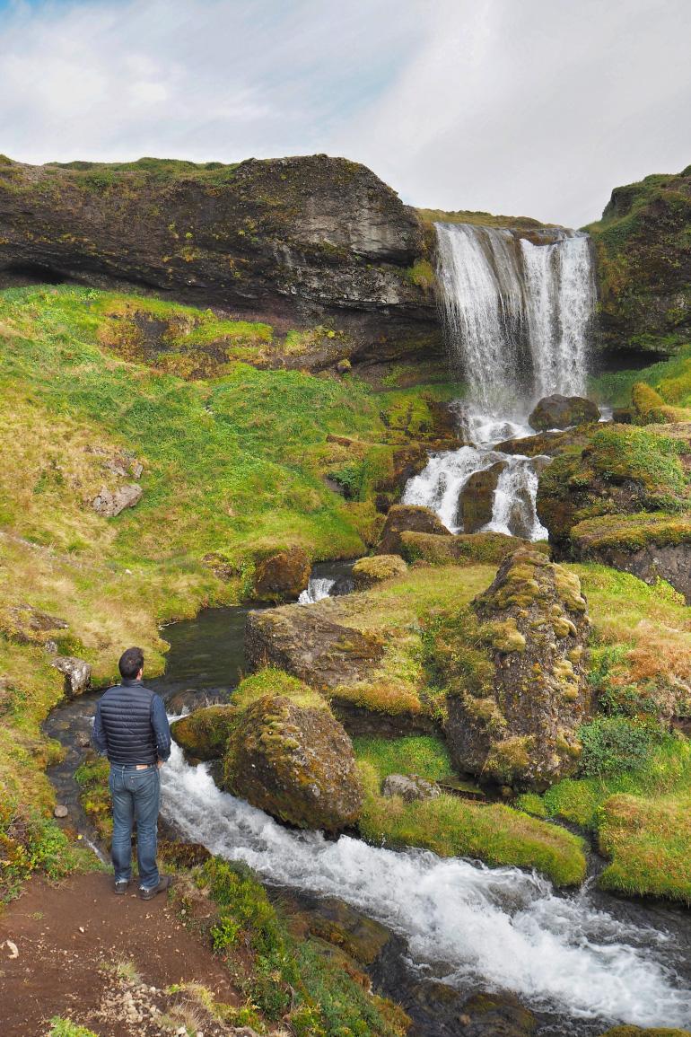 Road trip en Islande - cascade dans l'ouest islandais
