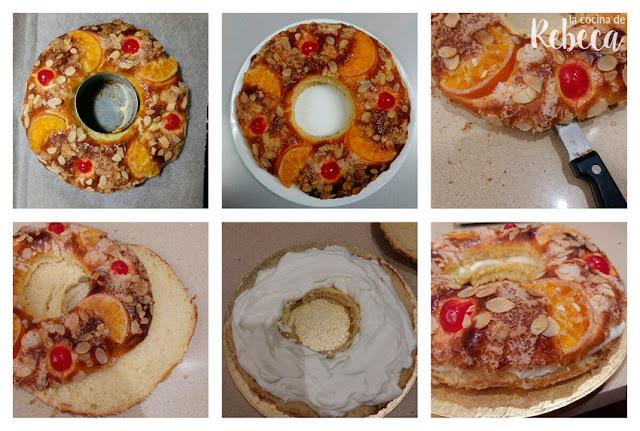 Receta de roscón de Reyes con Thermomix 10