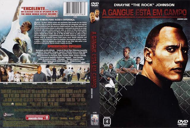 Capa DVD A Gangue Está em Campo