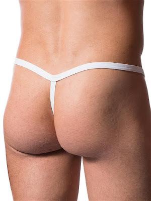 Manstore Tarzan Strap M200 Underwear White Back Gayrado Online Shop