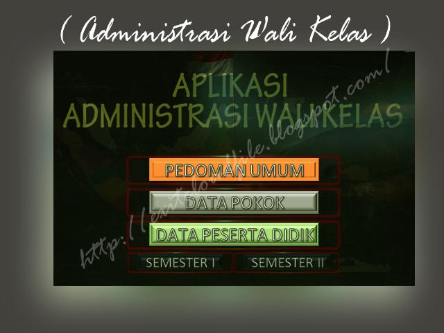 Download Aplikasi Administrasi Wali kelas ( AWAL ) SD Tahun 2016/2017