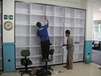 Rak File Arsip Kantor Terbuka Tahan Beban Berat