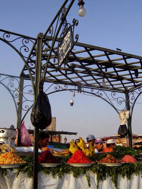 Magia Jemaa El Fna w Marrakeszu