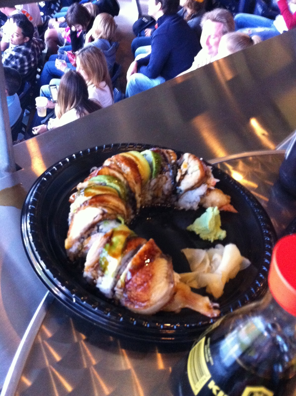taste of hawaii petco park the sushi bar on toyota terrace