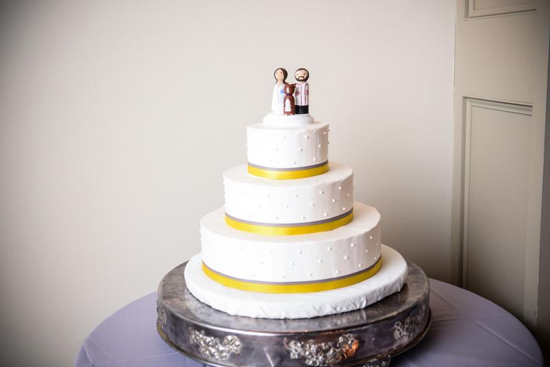 New York Yellow And Grey Diy Wedding By Lennon Photo