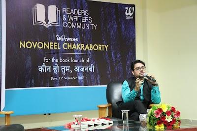 """Your fiction is someone's reality"": Novoneel Chakraborty at Jagran Lakecity University"