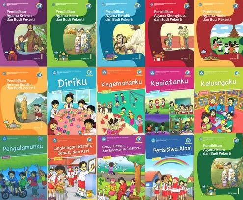 Download Buku Siswa SD / MI Kelas 1, 2, 4, dan 5 Kurikulum ...
