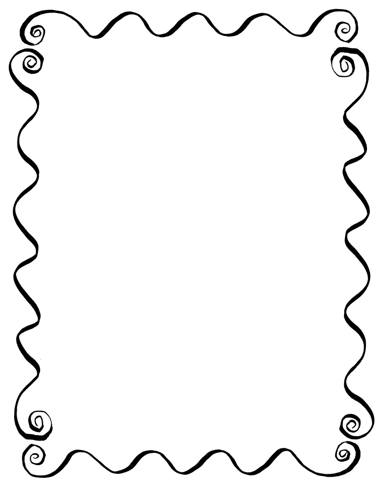 Frame Design Line Art : Digital stamp design hand drawn decorative frame