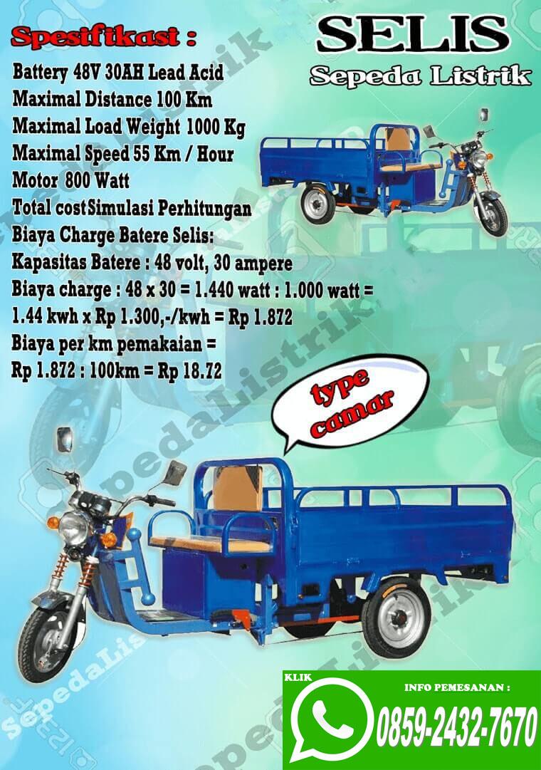 0859 2432 7670 Wa Jual Sepeda Listrik Murah Jakarta Motor Selis Type Merak Harga