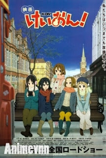 K-On! Movie - The Sparticle Mystery SS1 2011 Poster