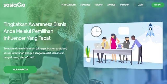 Ingin penghasilan dari Blog? Coba SOSIAGO Influencer Marketing