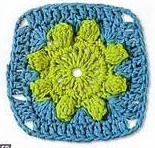 Patrón #1608: Granny a Crochet