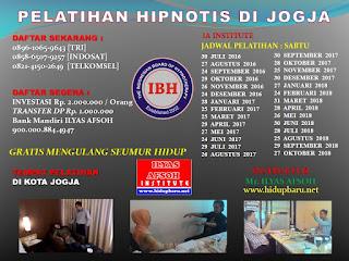 Trainer Hipnotis di Jogjakarta