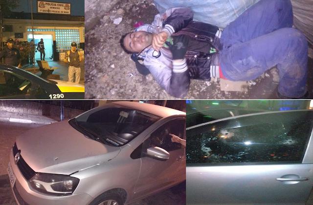 GCM de Santo André de folga flagra assalto em Mauá e troca tiros com marginais um acaba detido