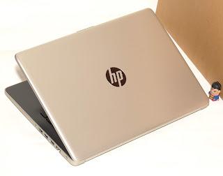 Laptop Baru HP 14-cm0068AU AMD A9 Malang