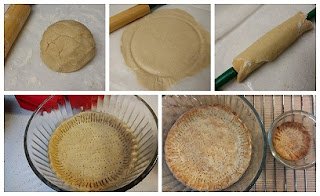 Preparation of the cassava dough and baked pie (paleo, gluten-free, dairy-free, refinedsugarfree, vegan, whole30).jpg