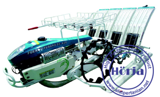 Mesin penanam padi - rice transplanter