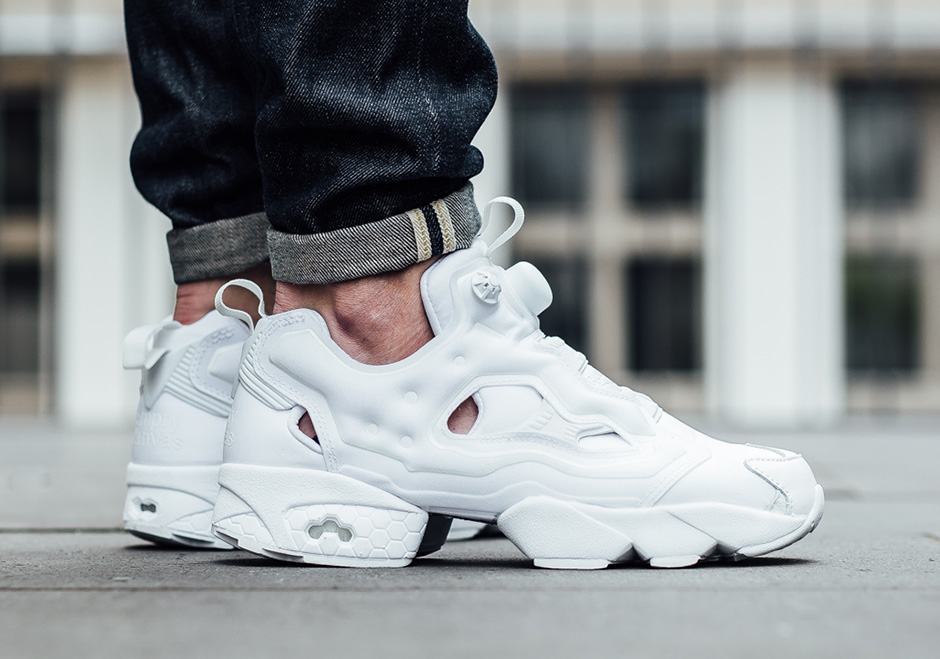Reebok White Leather Shoes