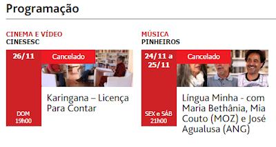 Show recital com Maria Bethânia São Paulo, foi cancelado pelo Sesc SP