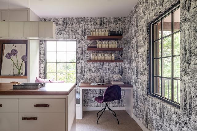 Дизайнерские проекты. Реконструкция тюдоровского дома в Ньютоне штат Массачусетс.