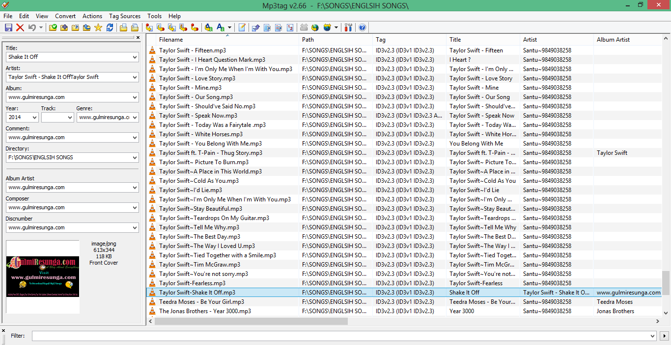 free-audio-tag-editor