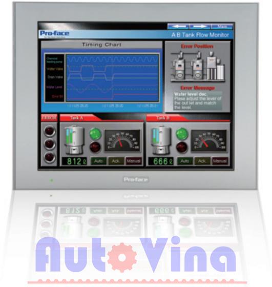 Đại lý bán màn hình cảm ứng HMI Proface 12.1 inch PFXGP4601TAA, PFXGP4601TAD, PFXG-P4603TAD, PFXGP4601TMA,  PFXGP4601TMD