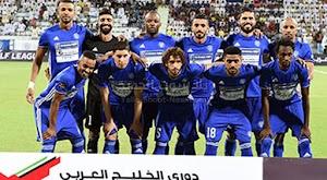 النصر يفوز على نادي الوحدة بثلاثية في الجولة 17 من الدوري الاماراتي