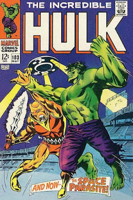 Incredible Hulk #103, the Space Parasite