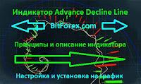 Индикатор Advance Decline Line - описание и принципы работы