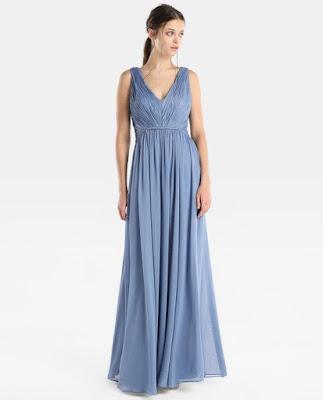 Vestidos largos para madrina de bodas