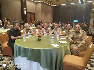 Wabup Selayar Hadiri Rakor Terpadu Pemilu 2019