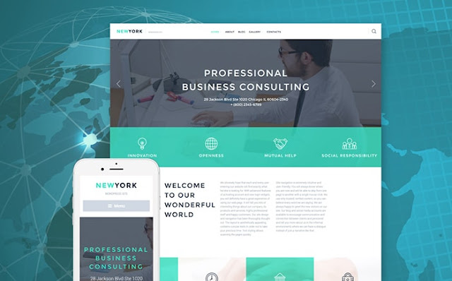 Business Consulting Responsive WordPress Theme