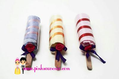 Souvenir Saputangan Handuk Ice Cream Potong murah di jatinegara