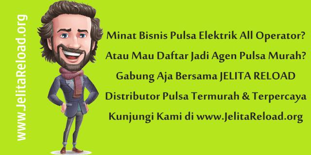 JelitaReload.org Web Resmi Jelita Reload Pulsa CV Cahaya Multi Sinergi