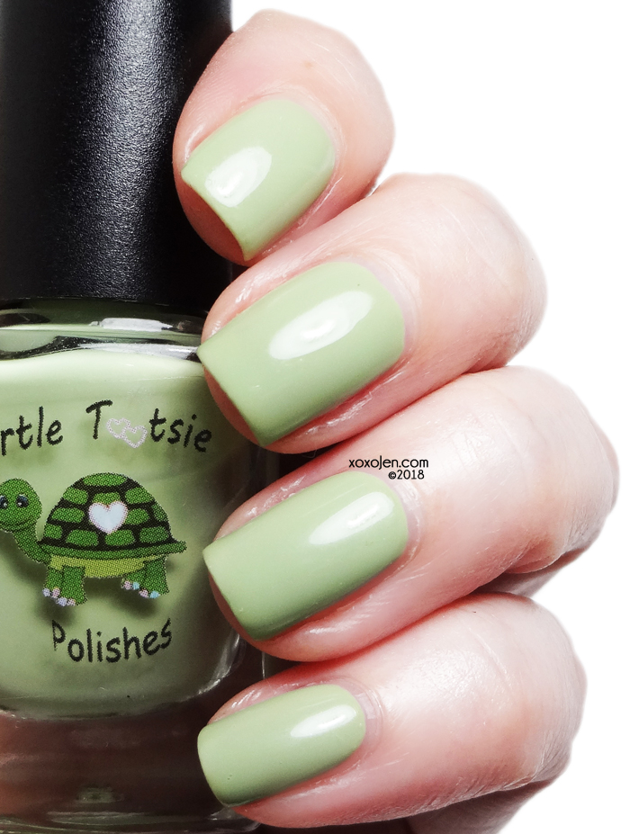 xoxoJen's swatch of Turtle Tootsie There, They're, They Are, Their.  Use Proper Grammar!