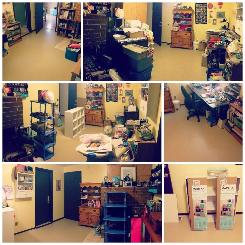 Craft Room Makeover: Little Gray Fox: Craft Room Makeover
