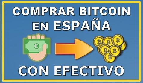 Comprar Bitcoin España mediante efectivo CashEUROS