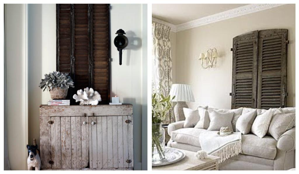 Decorative Indoor Window Shutters: TristinandCompany: Linky Love: Shutters