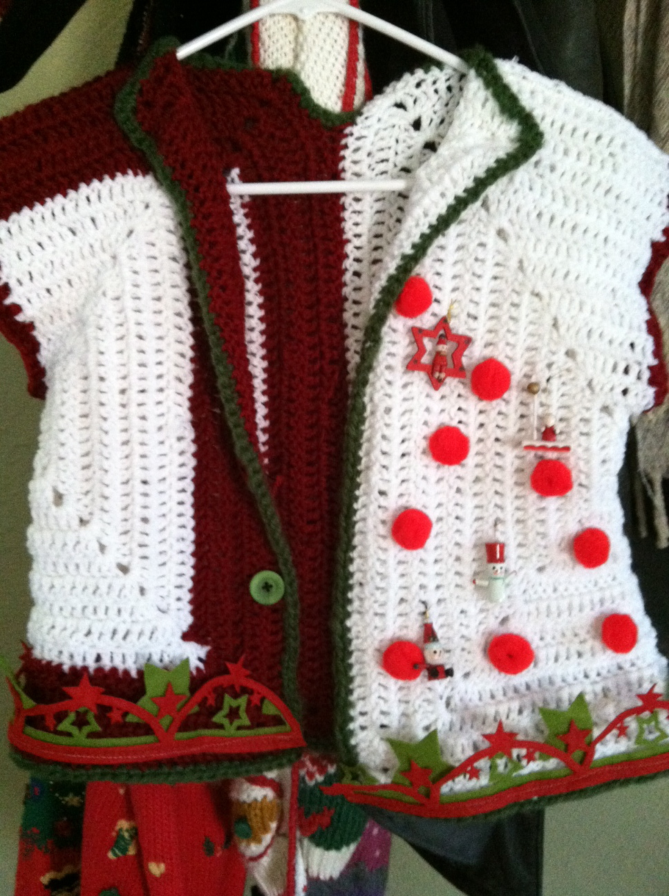 Make your ugly christmas sweater