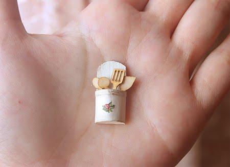 Dollhouse Miniatures Miniature Food Jewelry Craft