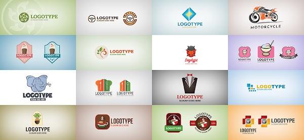 51 Plantillas para crear logos en PSD y vector gratis
