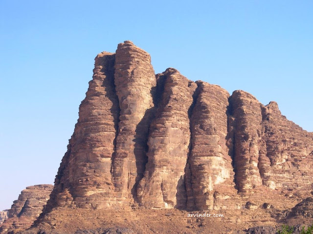 Seven Pillars of Wisdom Mountain Wadi Rum