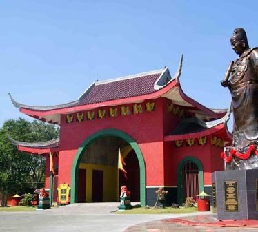 Klenteng Sam Poo Kong Semarang, Indonesia