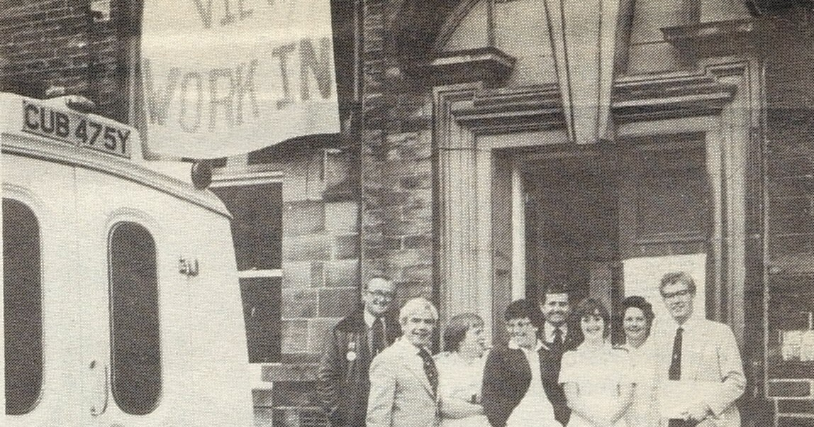 cohse  thornton view hospital occupation 1984