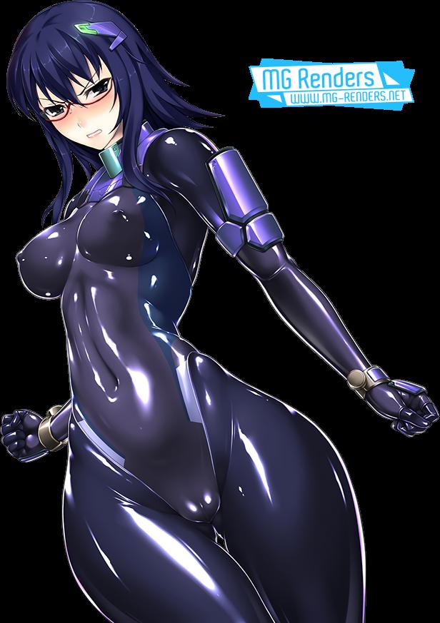 Tags: Anime, Render,  Nijou Reiko,  Rindou Aya, PNG, Image, Picture