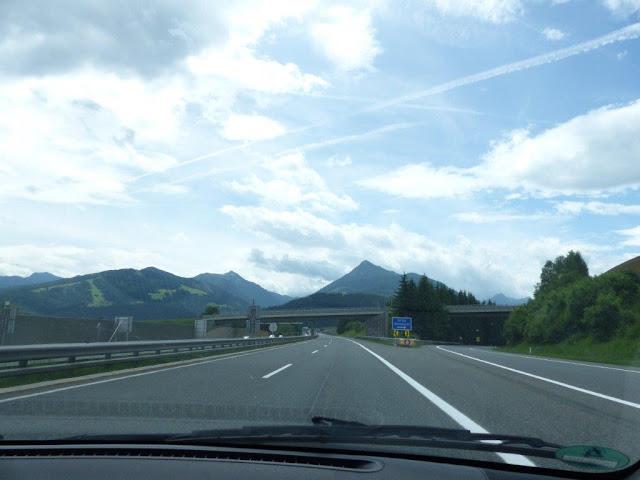 Anreise Kroatien Campingurlaub Rundreise Österreich Alpen Autobahn