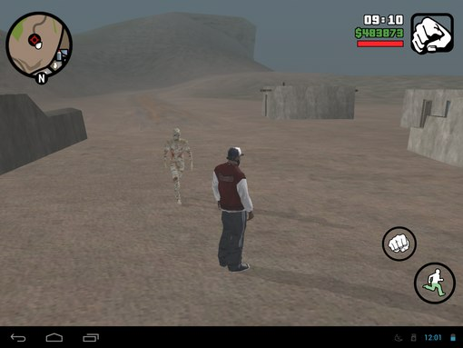 Misterix Mod 6.0 for GTA SA Android [Monsters Mod Pack] the mummy running mod pack pic gtaam